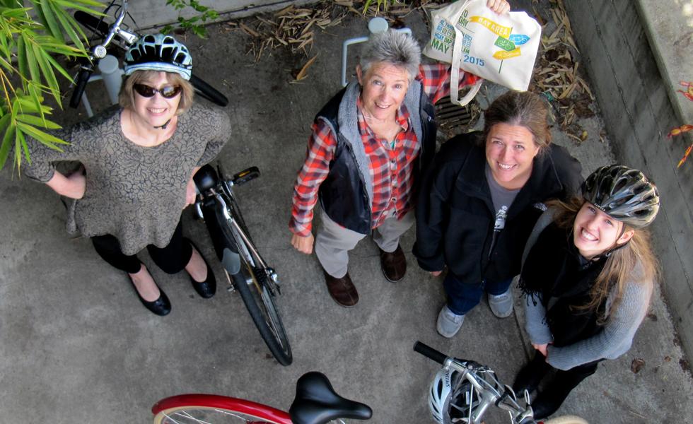 Berkeley Office Bike To Work Day