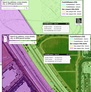 Transportation Corridor Agencies On-Call GIS Services